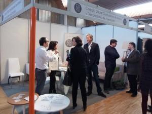 Stand del Colegio Oficial de Diseñadores de Interior / Decoradores de Cantabria en la 1º Feria de la Vivienda y Decoracion en Cantabria