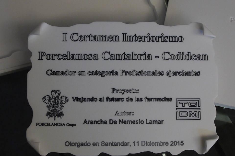 FALLO DEL I CERTAMEN DE INTERIORISMO PORCELANOSA CATABRIA