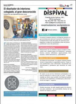 PUBLICACION EN EL PERIODICO NUESTRO CANTABRICO 09-05-17